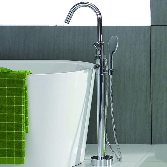 lux aqua wanne design standarmatur freistehend oval armatur 081000 ebay. Black Bedroom Furniture Sets. Home Design Ideas