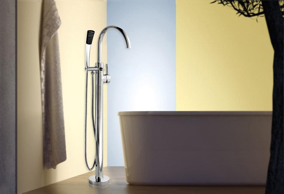 Armatur badewanne freistehend standarmatur messing for Standarmatur fa r freistehende badewanne